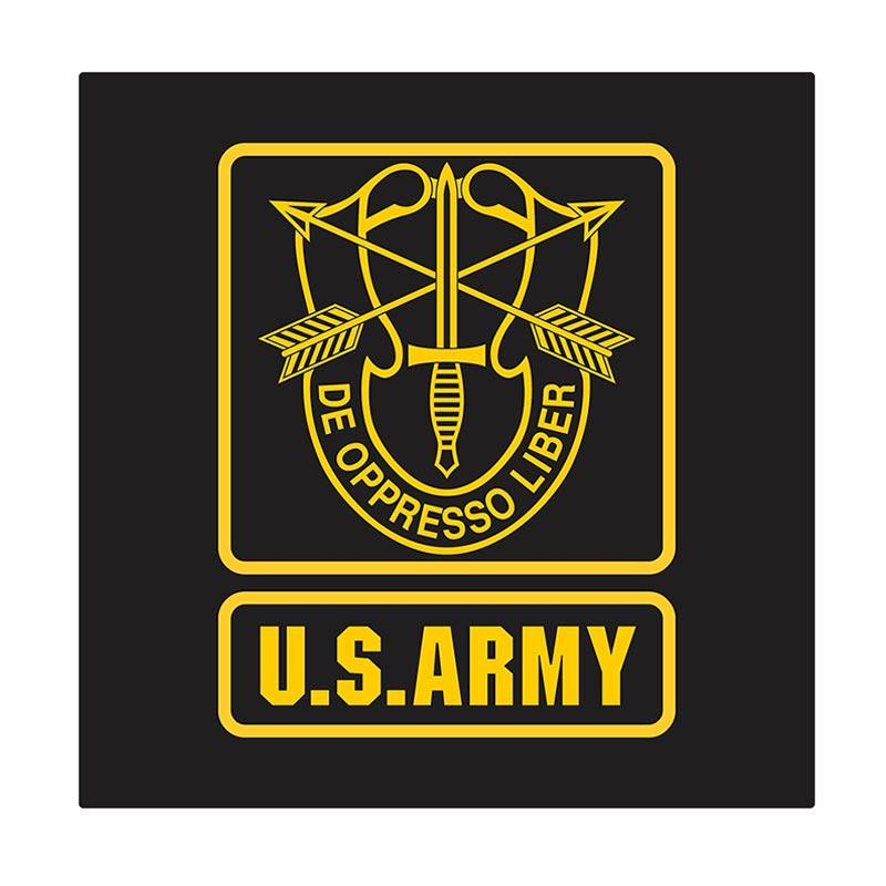 US Army Green Beret Cutting Sticker