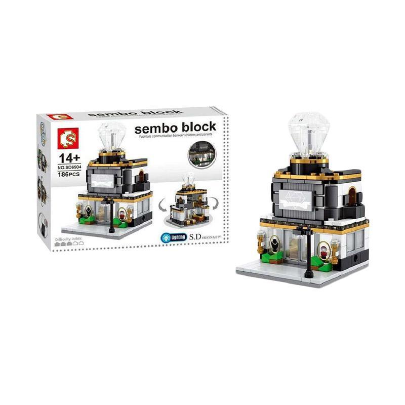 Sembo Sd6504 Jewelry Store Mini Blocks