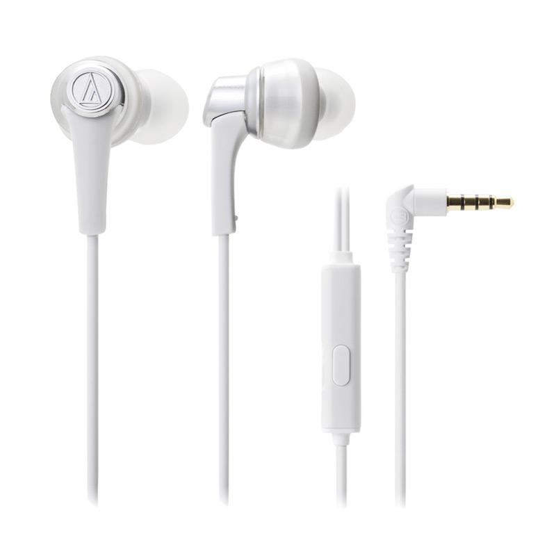 Audio Technica ATH-CKR5iS Headset - White
