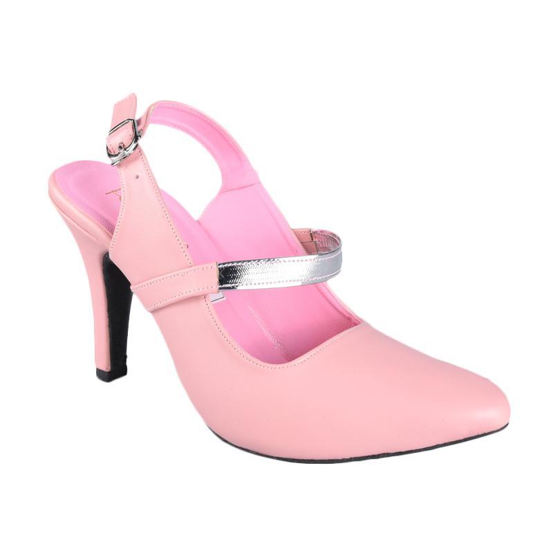 Rena SN-245C Sepatu High Heels Wanita - Pink