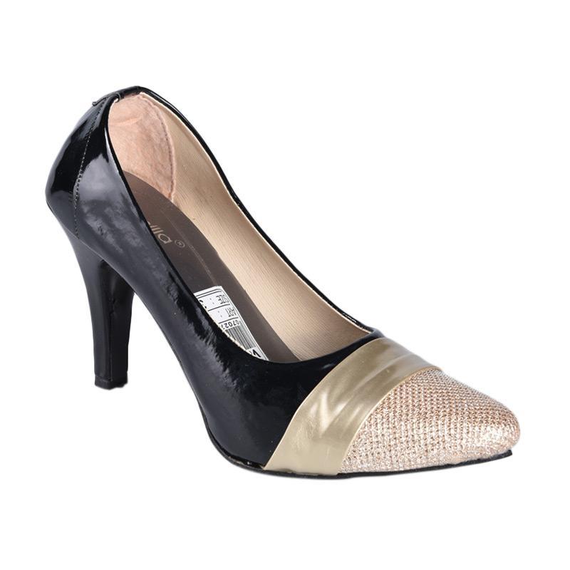 RSM SN-150 Sepatu High Heels Wanita - Hitam