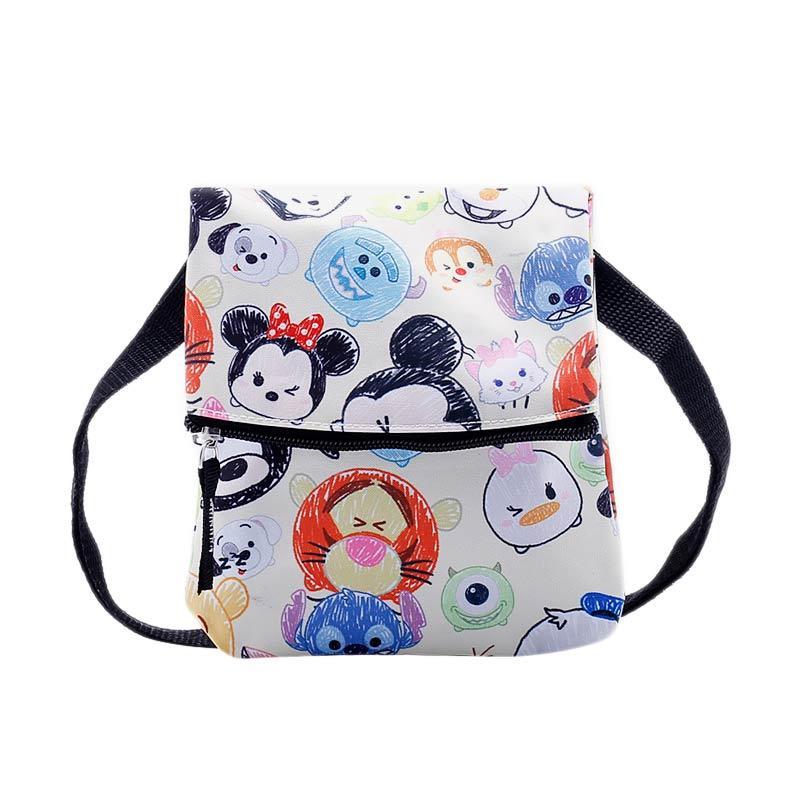 Disney Tsum Tsum Sling Bag - White