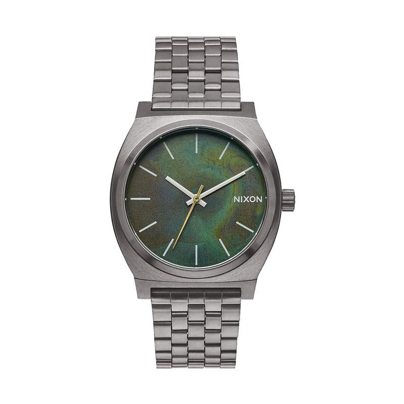 Nixon A0452069 Time Teller Analog Watch Jam Tangan Pria - Silver
