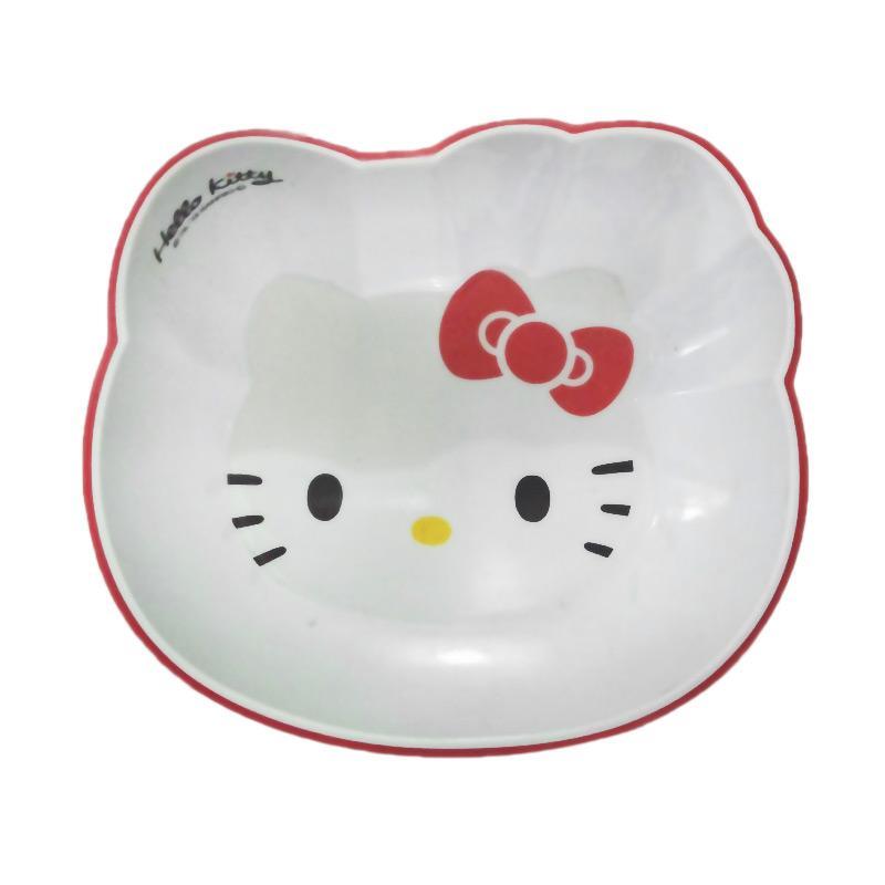 Hello Kitty Head HK Mangkok - Red