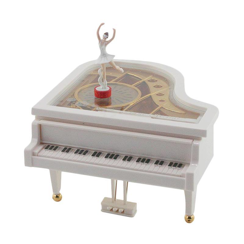 harga Ohome AN-KU007 Piano Kotak Musik - Putih Blibli.com