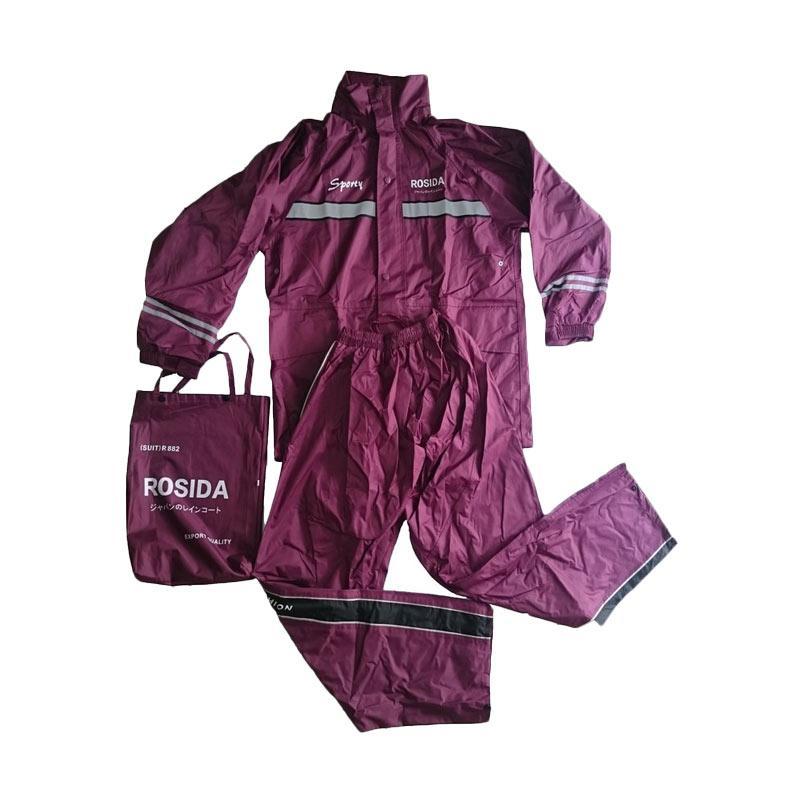 harga Rosida R882 Sporty Jas Hujan - Maroon Blibli.com