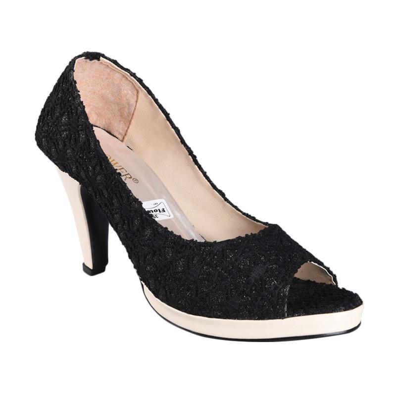 harga FP - RSM SN-234 Sepatu High Heels Wanita - Hitam Blibli.com