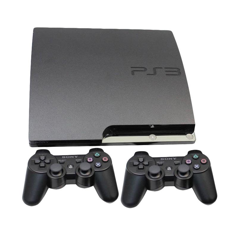 Ps3 Slim Sony + Hdd 160gb + 2 Stick Wireless