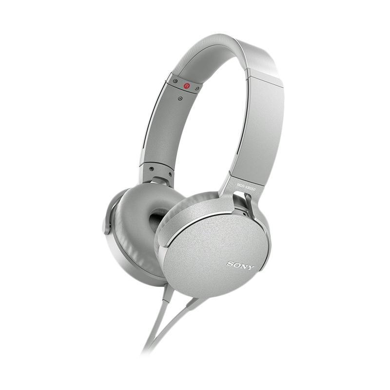 SONY XB-550AP Extra Bass Headset - White
