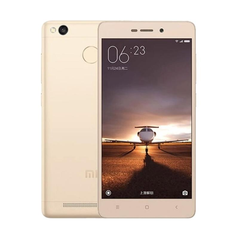 Xiaomi Redmi 3S Smartphone - Gold [16GB/2GB]