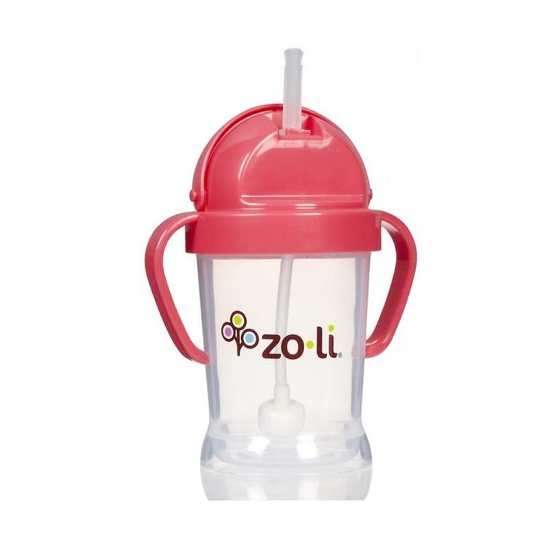 Zoli Bot Straw Sippy Cup - Pink [6oz]
