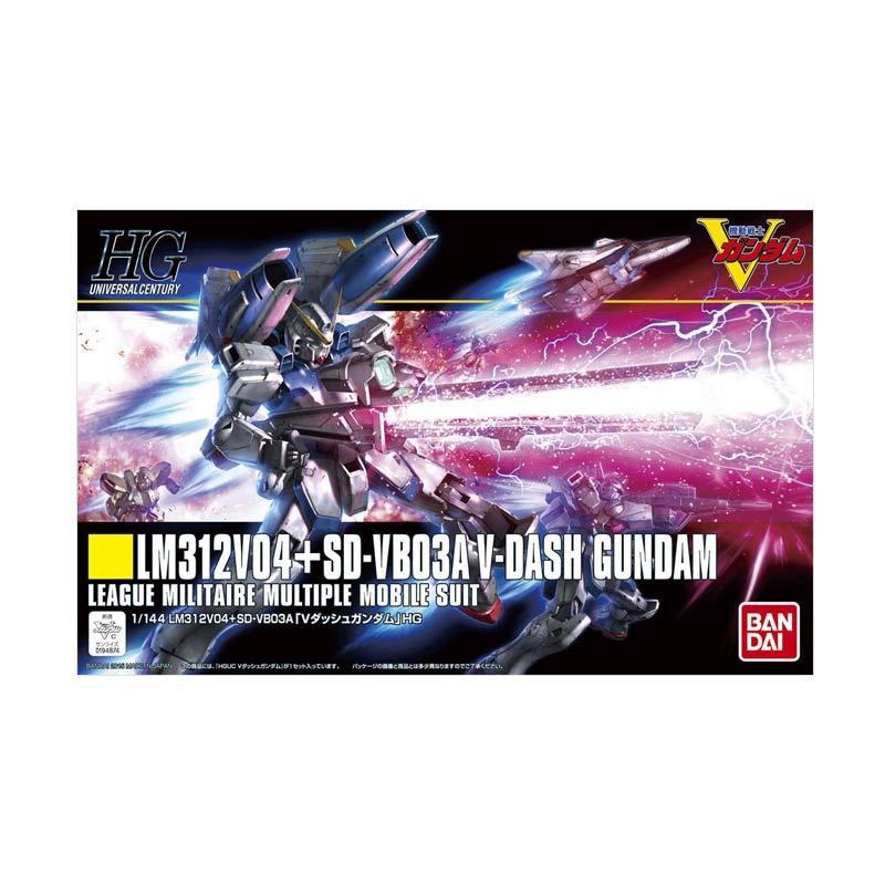 Bandai HG Victory Dash Gundam Model Kit [1:144]