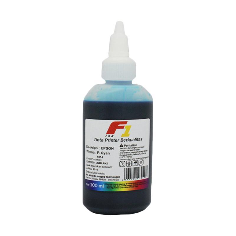 F1 Ink Tinta Printer for Epson - Cyan [100 mL]