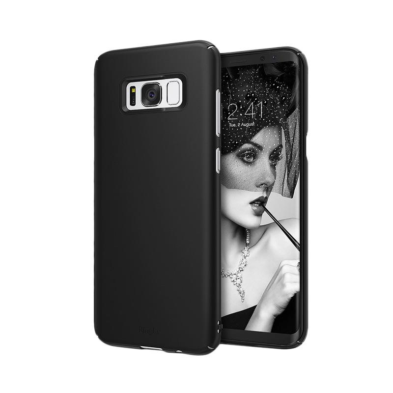 Ringke Slim Casing for Samsung Galaxy S8 - SF Black