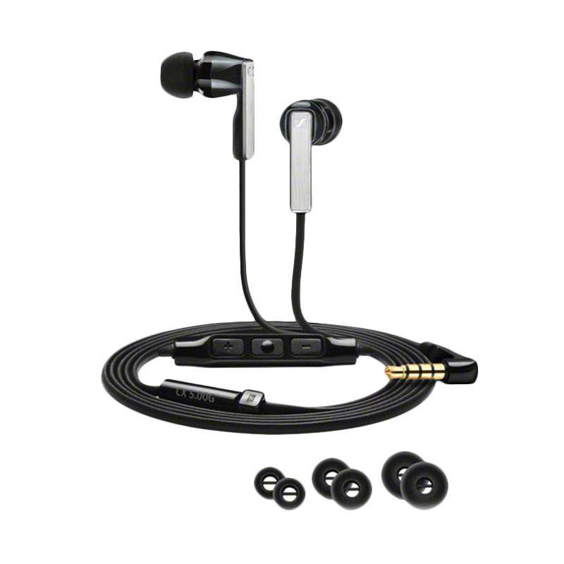 Sennheiser CX5.00i Earphone - Hitam