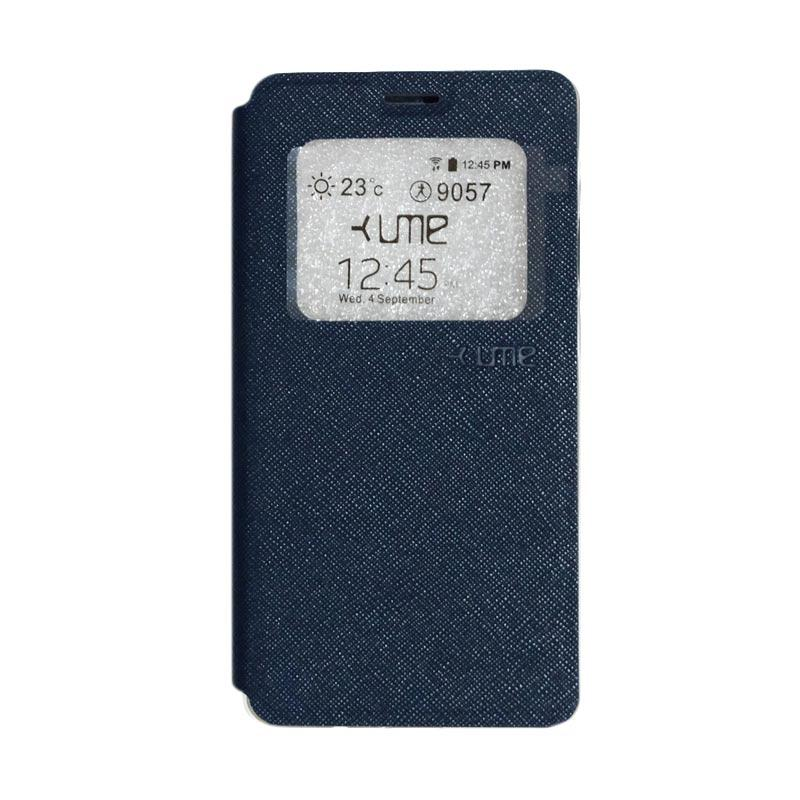 Ume Flip Cover Casing for Vivo Y51 - Navy