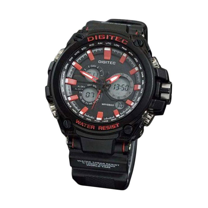 Digitec DG656AD Jam Tangan Pria - Hitam Merah