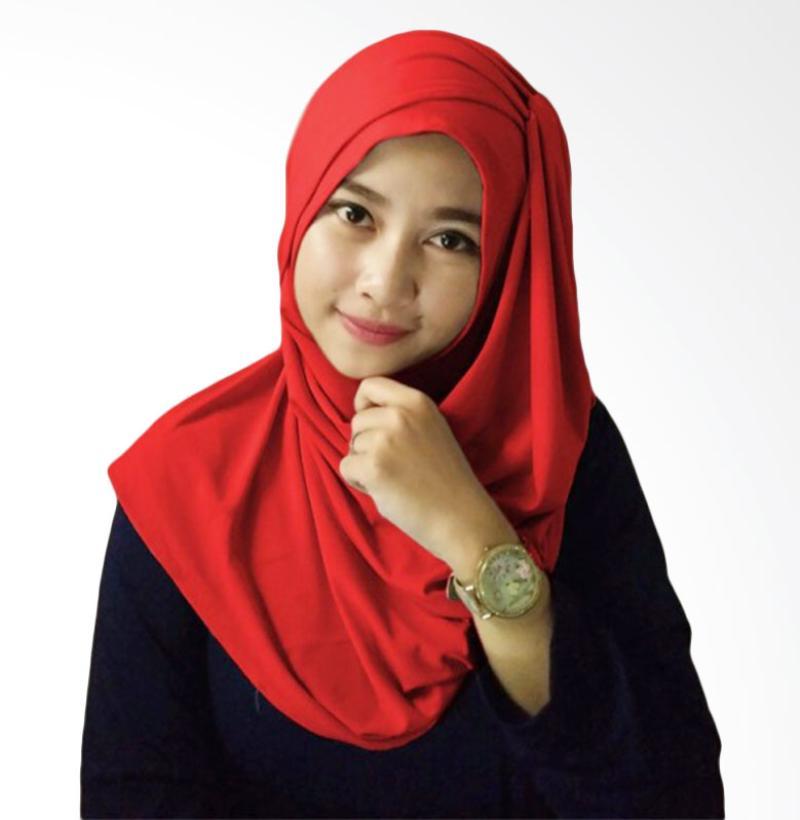 Milyarda Hijab Hana Ceruti - Merah