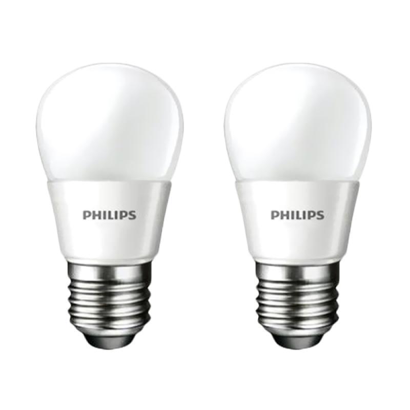 Jual PHILIPS/Philip Bohlam Lampu LED - Putih [4 W / 4 Watt / 4W / 4Watt - 2 pcs] Online - Harga & Kualitas Terjamin | Blibli.com