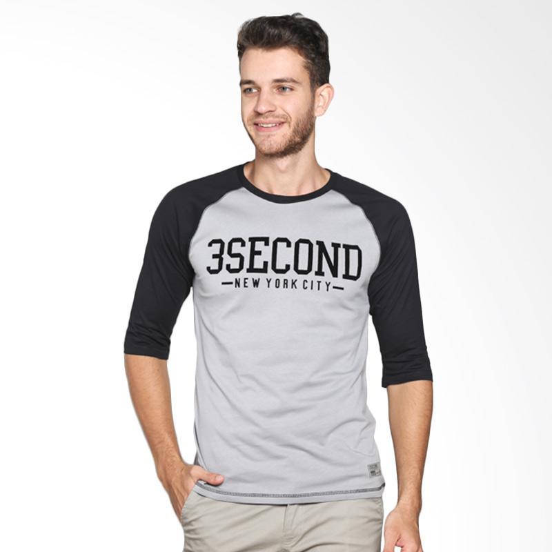 3 Second 111021712 Men T-shirt - Black