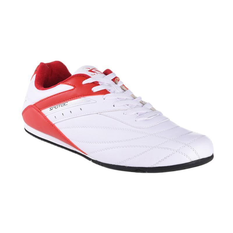 Spotec Corner Lace Corner Sepatu Olahraga - Red 2