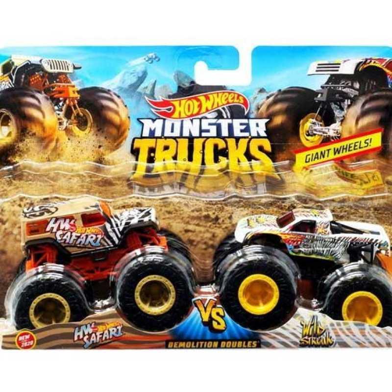 Mainan Kendaraan Mobil Hot Wheels Monster Truck Isi 2 Fyj64 Ori Terbaru Agustus 2021 Harga Murah Kualitas Terjamin Blibli