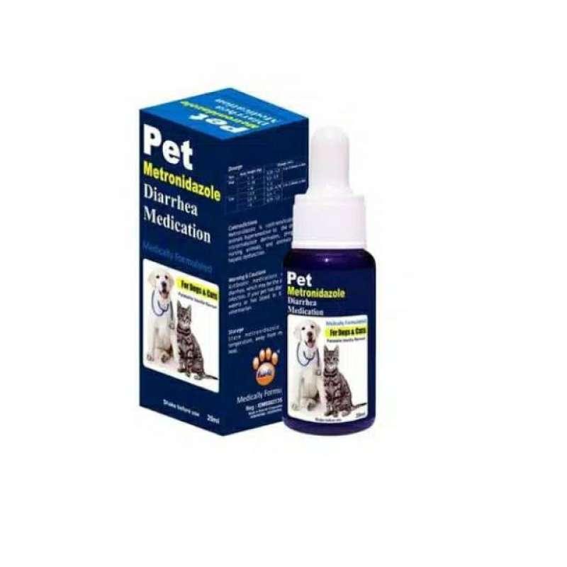 Obat Diare Mencret Untuk Kucing Anjing Pet Metronidazole Diarrhea Medication