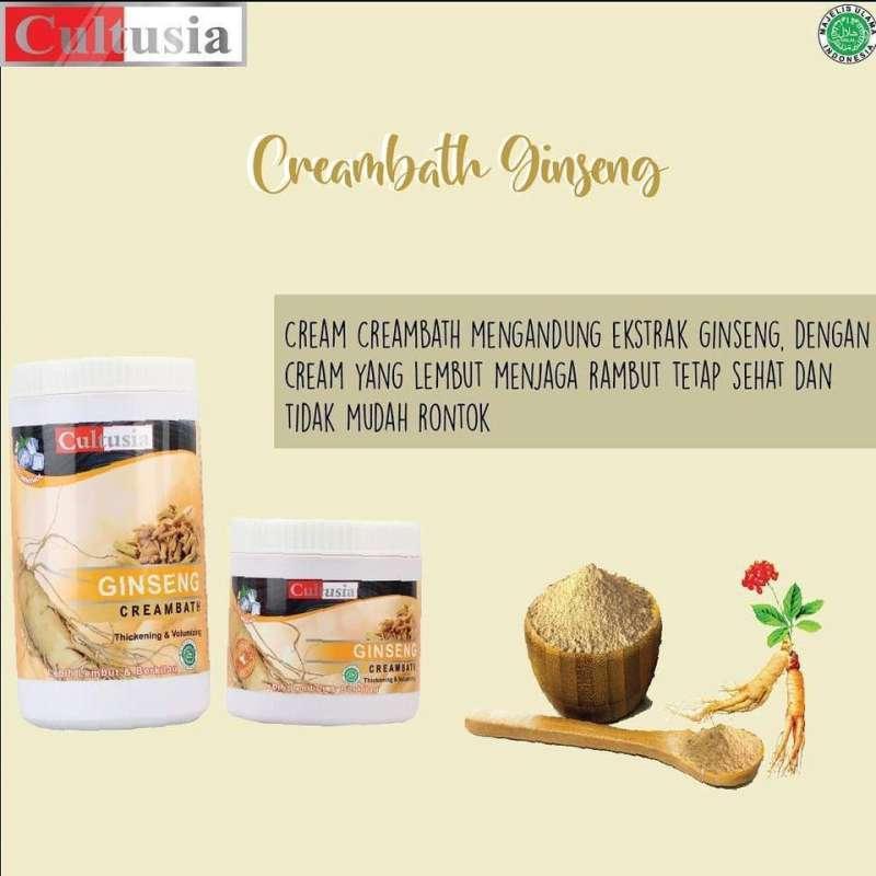Jual Cultusia Creambath Rambut All Varian 1000 Ml Ginseng Online April 2021 Blibli
