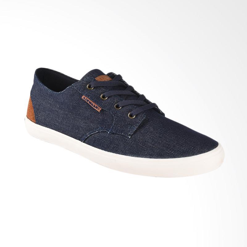 Airwalk Jonah DNM Sepatu Pria - Blue Denim [AIW17CV0116S]