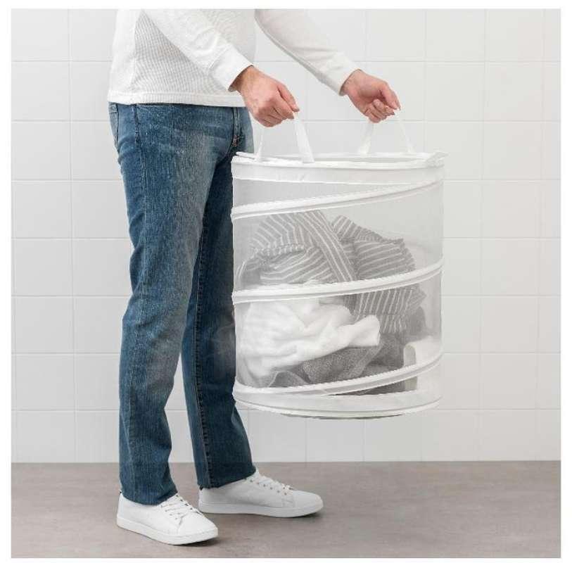 Keranjang laundry estetik