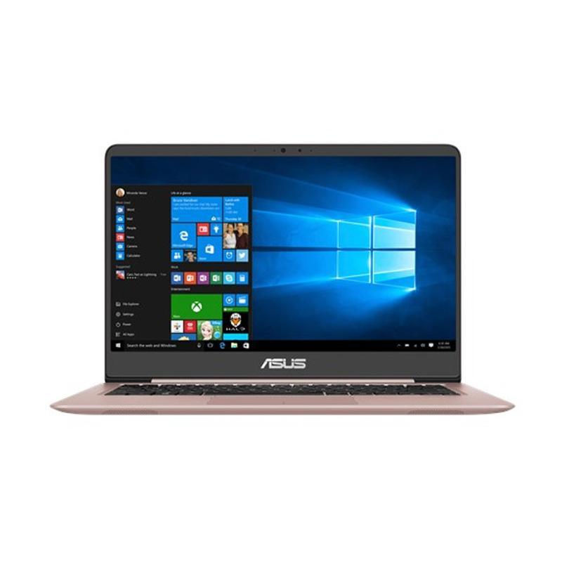 """Asus Zenbook UX410UQ-GV091T (Intel Core i7-7500U/8GB RAM/1TB HDD+128GB SSD/14""""/Win10) Rose Gold"""