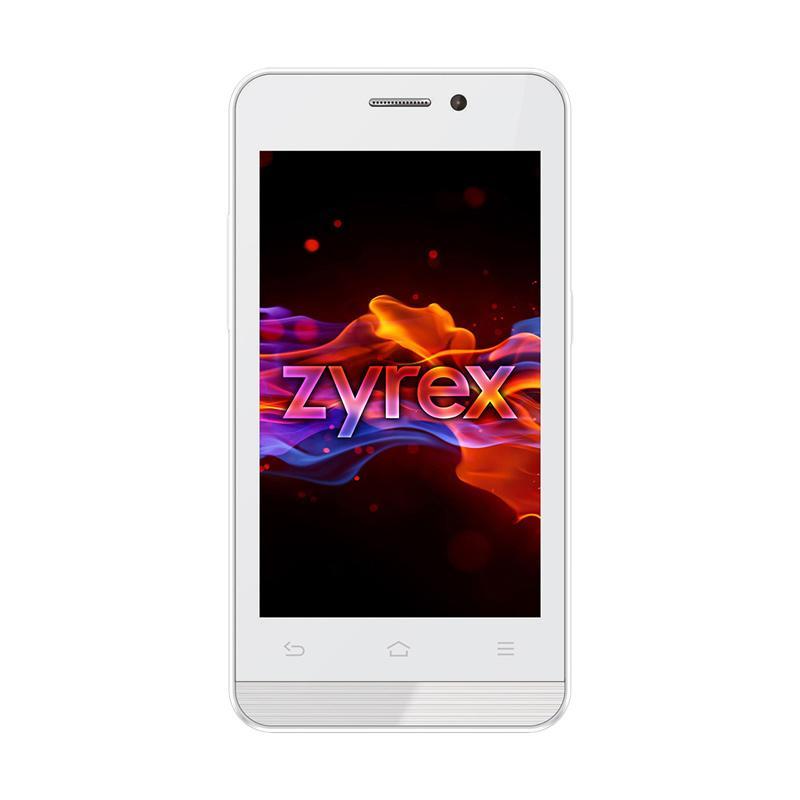 Zyrex ZA977 - White Gold [4 Inch/512MB/4GB]