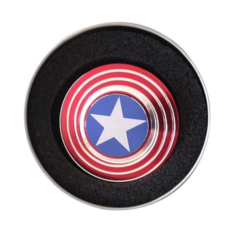 Fidget Cube Spinner Mainan Edukasi - Captain America