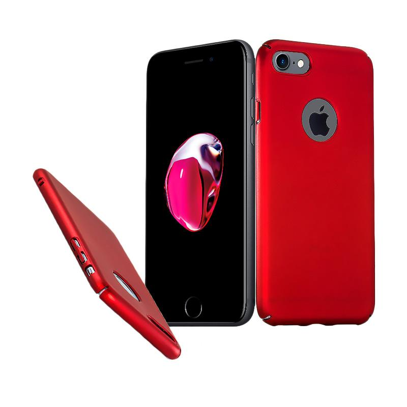 Fashion Baby Skin Ultra Thin Hardcase Casing for iPhone 7G - Red