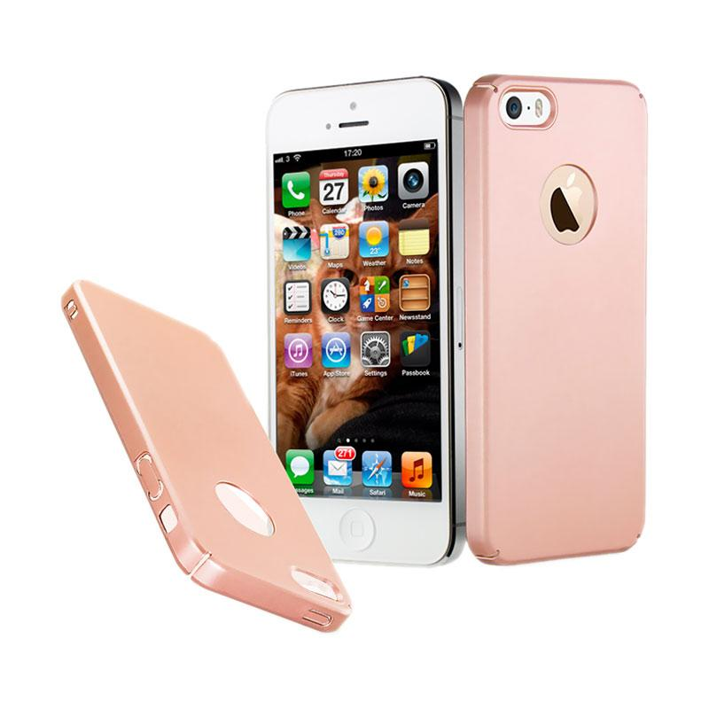 Fashion Baby Skin Ultra Thin Hardcase Casing for iPhone 5s - Rose Gold
