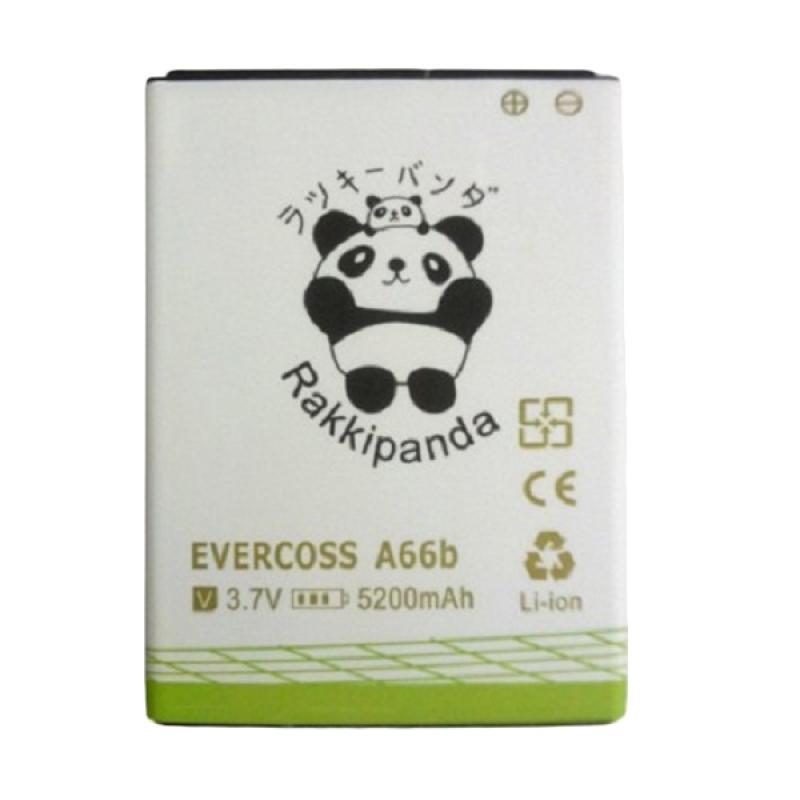 RAKKIPANDA Baterai Double Power IC fo EVERCOSS A66B