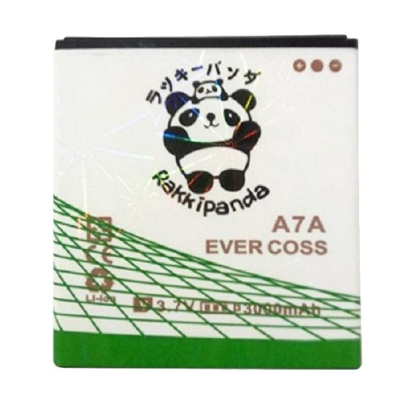 RAKKIPANDA Double Power IC Baterai for Evercoss A7A