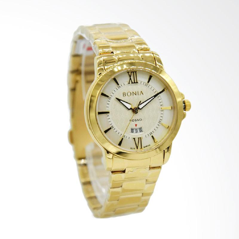 harga Bonia Rosso BNR109-2253 Jam Tangan Wanita - Gold Putih Blibli.com