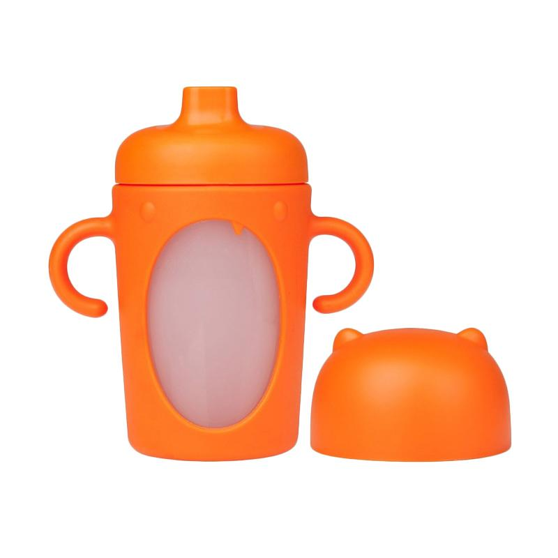 Boon Modster Sippy Cup - Orange [10 oz/ 295 mL]
