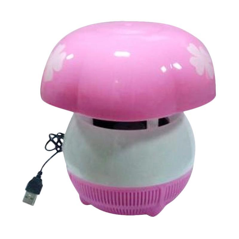 harga Mediatech 69953 Mosquito Killer Light Perangkap Nyamuk - Pink Blibli.com