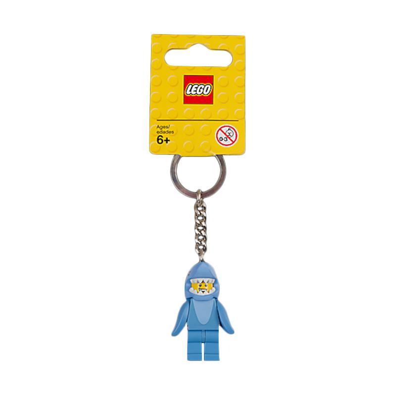 LEGO 853666 Shark Suit Guy Key Chain Gantungan Kunci