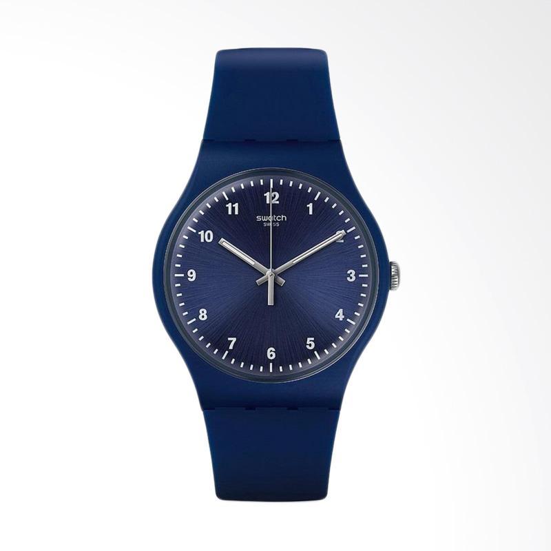 Swatch Mono Jam Tangan Pria - Biru Suon116
