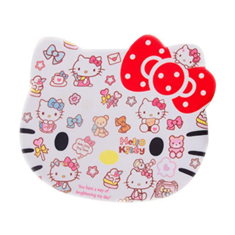 Hello Kitty Polka Ribbon HK Mouse Pad - Red