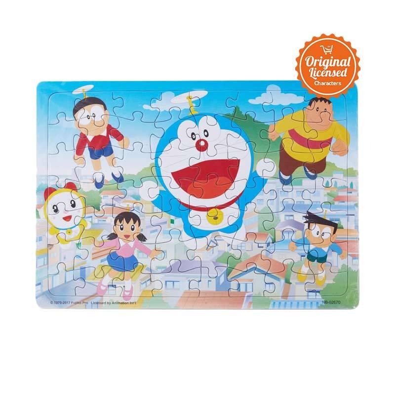 Doraemon 01 Mainan Puzzle Anak