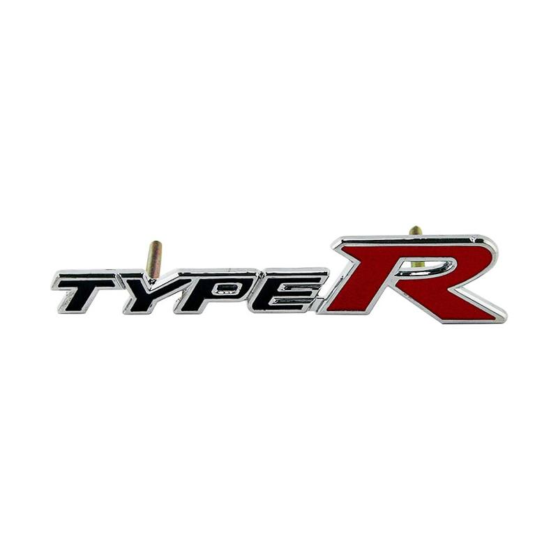 harga Autofriend AI Emblem Grill 3D Aluminium Type R Universal Logo 3D - Hitam Blibli.com