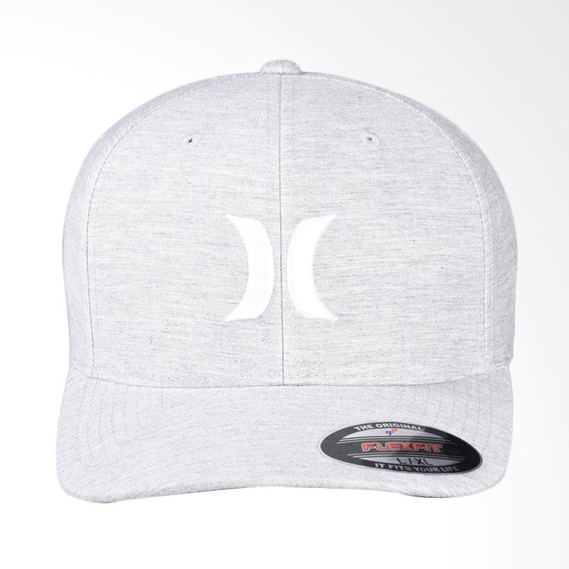 Hurley One & Textures Hat Topi - Pure Platinum MHA0003120_04Z