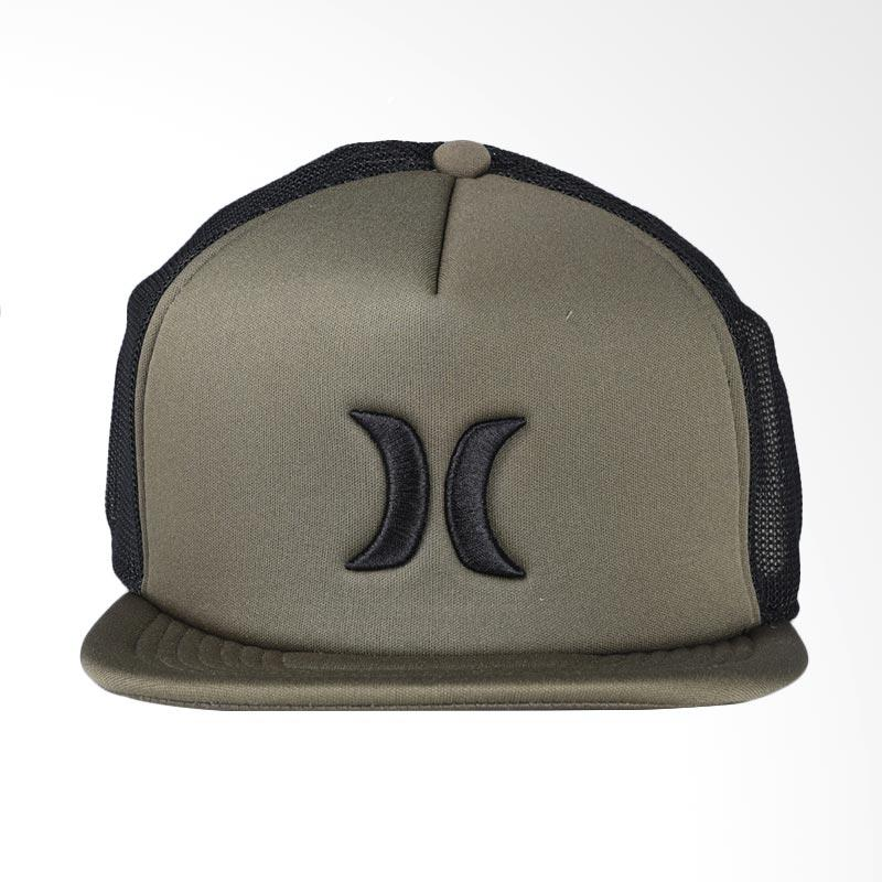 Hurley Blocked 3.0 Hat Topi - Faded Olive MHA0007180_36W