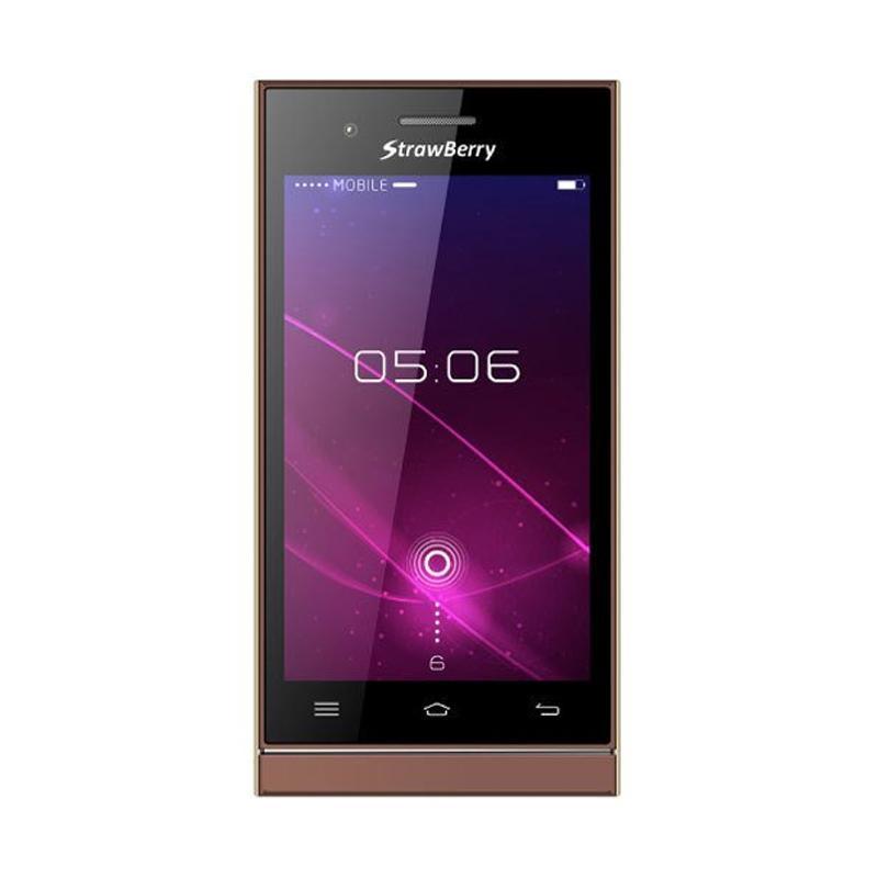 harga Strawberry ST168 Tornado Smartphone - Black Blibli.com