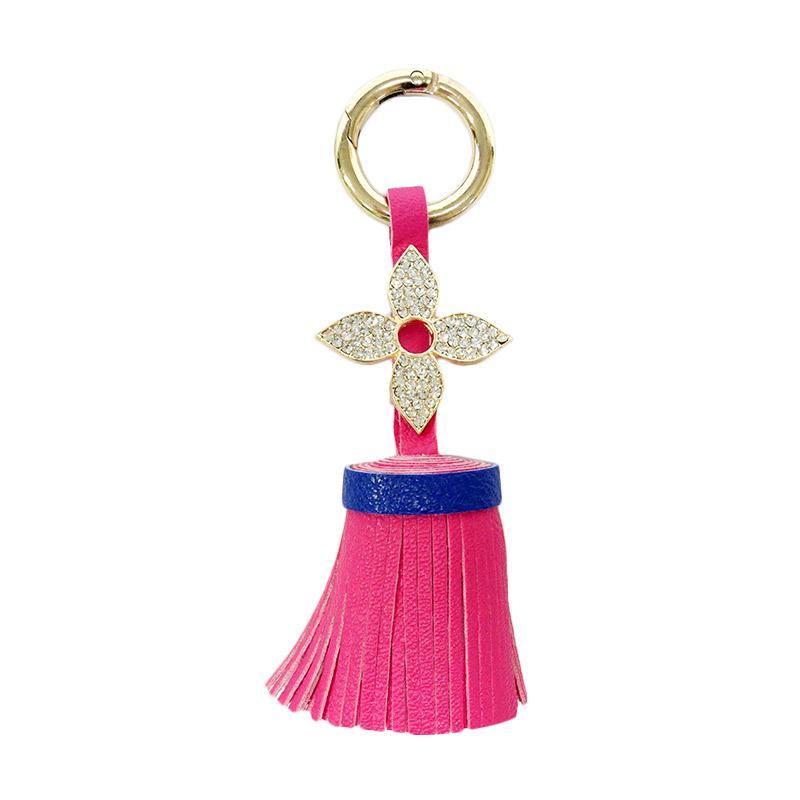 SIV Keychain Diamond 01 Gantungan Kunci - Pink [KDL05]