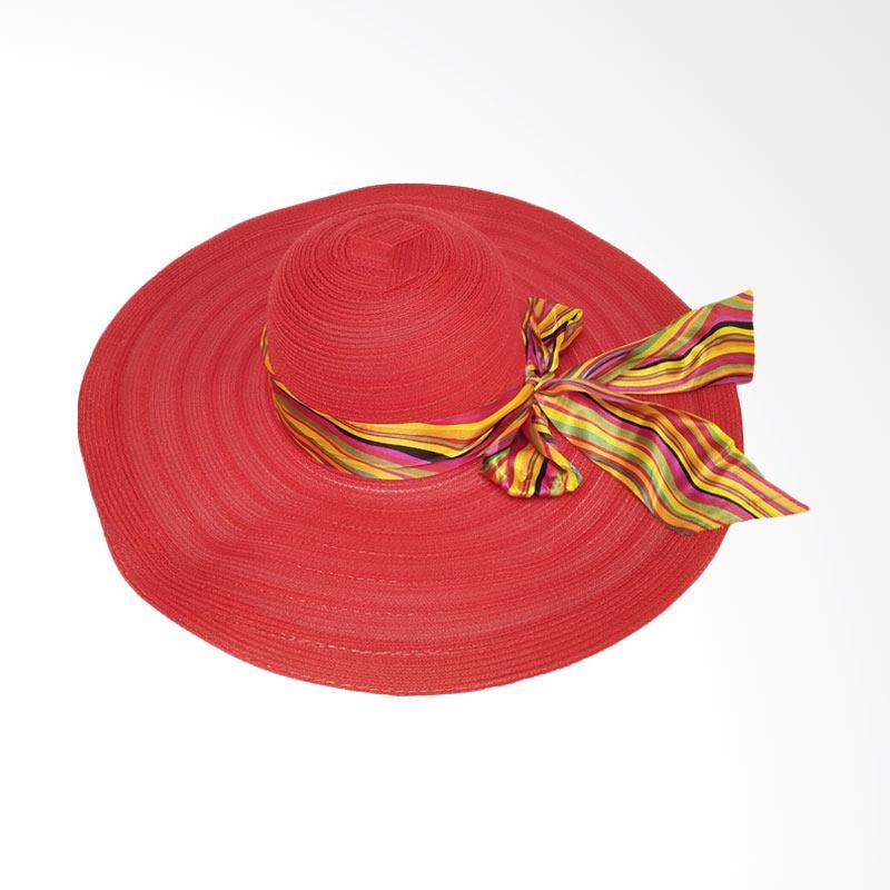 Jual D D Hat Collection Floppy Hat Wide Ribbon Lebar Pita Pelangi Topi  Pantai - Merah Online - Harga   Kualitas Terjamin  53cb50fbdc